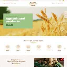 Criar Site Fazenda Agricultura