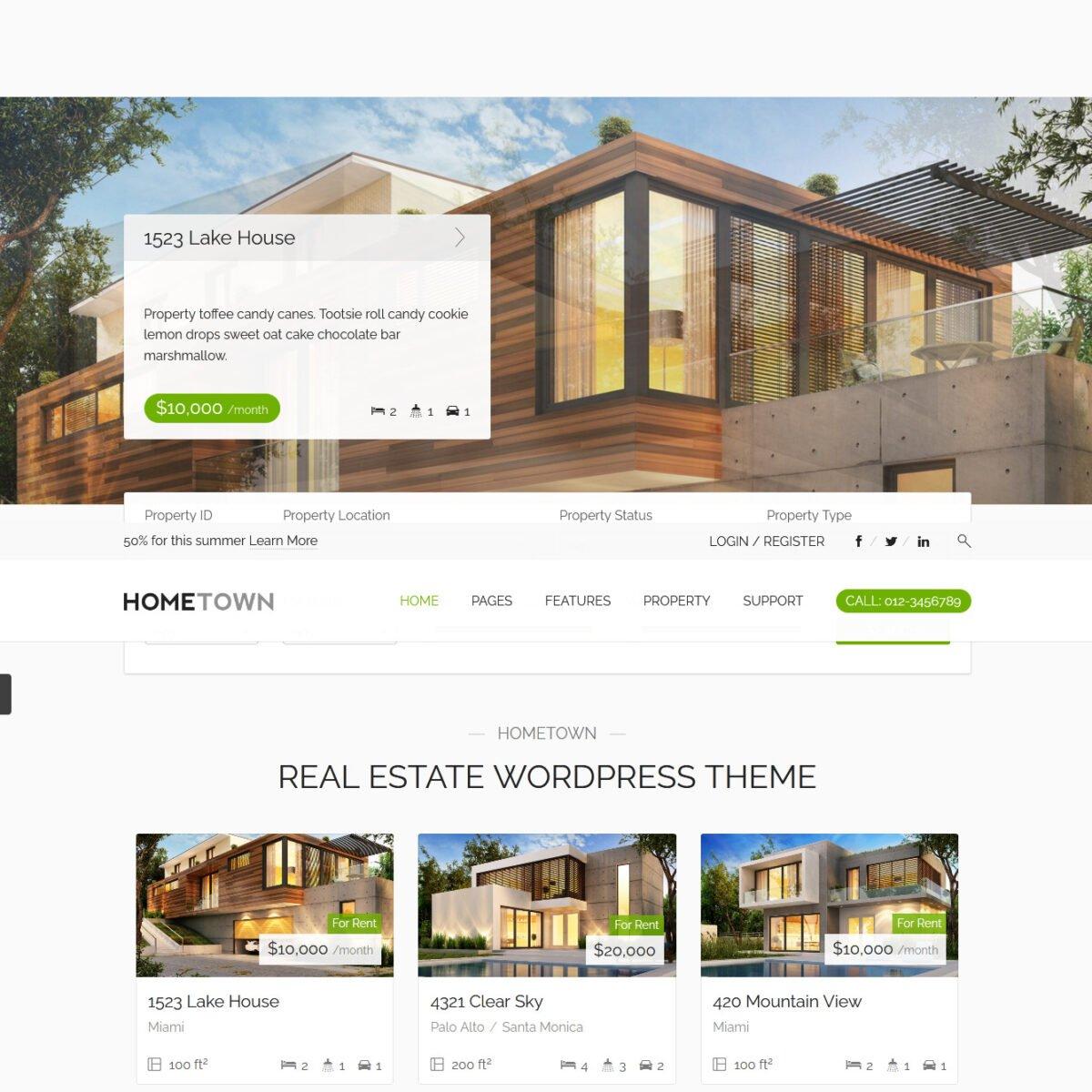 Criar Site Imóveis Imobiliária WordPress Responsivo 1171