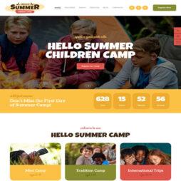 Criar Site Camping Acampamento