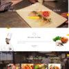 Criar Site Restaurante Uma Página Joomla Responsivo 1190