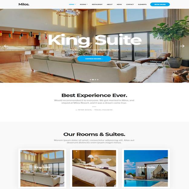 Criar Site Hotel Turismo