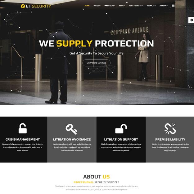 Criar Site Empresa Segurança