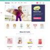 Criar Loja Virtual Infantil WordPress Responsivo 1215 S