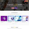Criar Site Produtos Digitais WordPress Responsivo 1229 S