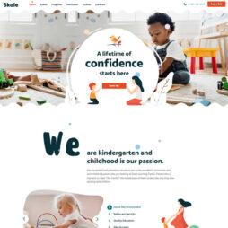 Criar Site Escola Infantil