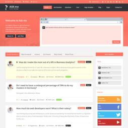 Criar Site Perguntas Fórum