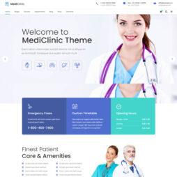 Criar Site Clinica Médica WordPress Responsivo 1234 S