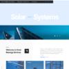 Criar Site Energia Solar WordPress Responsivo 1237 S