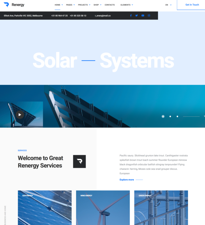 Criar Site Energia Solar