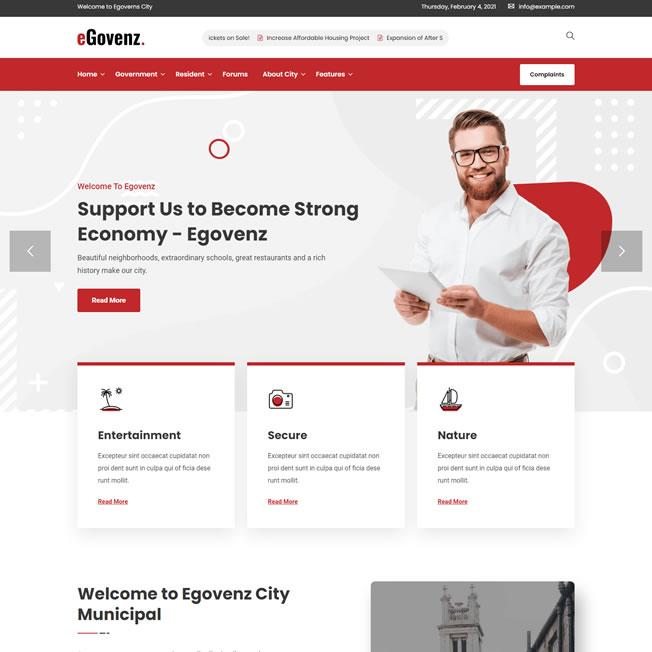 Criar Site Prefeitura Governo WordPress Responsivo 1240