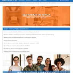 Criar Site Elevadores