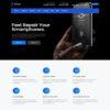 Criar Site Assistência de Celular WordPress Responsivo 1248