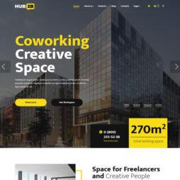 Site Espaços Coworking