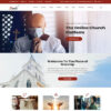 Criar Site Igreja WordPress Responsivo 1254