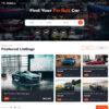 Criar Site Classificados de Carros WordPress Responsivo 1256