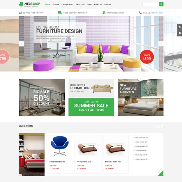Loja Virtual Móveis e Decoração