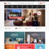 Loja Virtual Móveis e Decoração WordPress Responsivo 1261