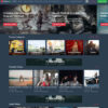 Criar Site Vídeos WordPress Responsivo 1265