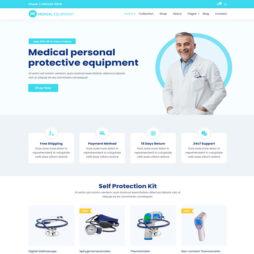 Criar Site Equipamentos Médicos
