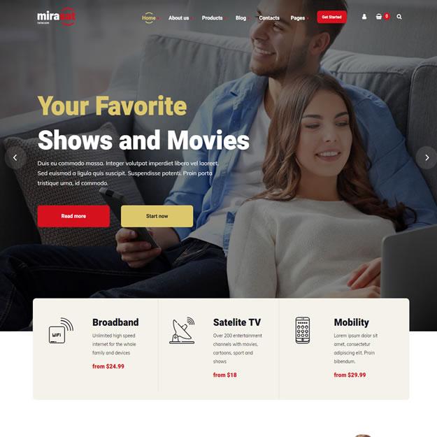 Site Provedor Internet Tv