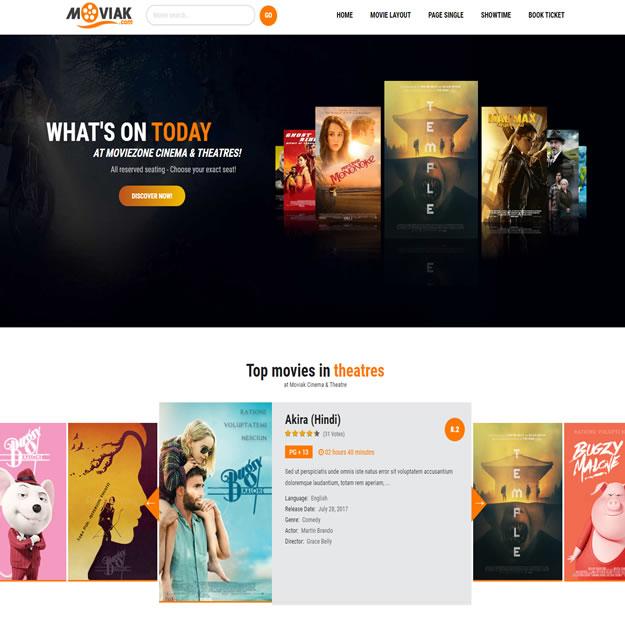 Criar Site Filmes