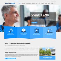 Criar Site Médico