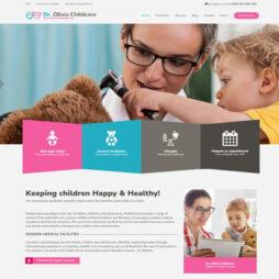 Criar Site Pediatra Odontopediatra