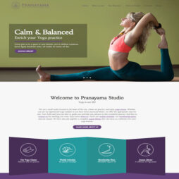 Criar Site Yoga