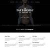 Criar Site Tatuagem Tatoo HTML Responsivo 1304