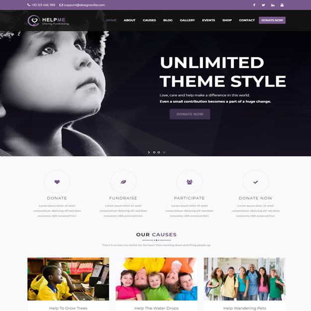 Criar Site Orfanato Crianças