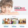 Criar Site Orfanato Crianças WordPress Responsivo 1311