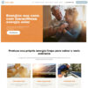 Criar Site Energia Solar WordPress Responsivo Português 1293 S