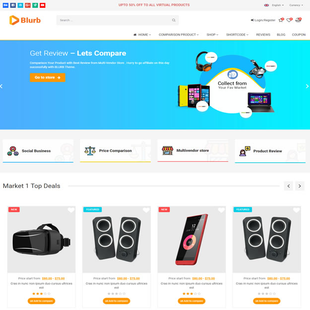 Criar Site Comparação Preços