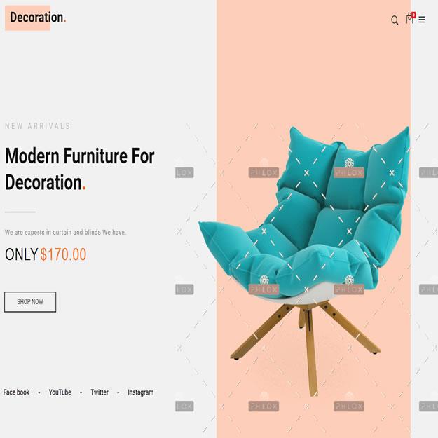 Loja Virtual Móveis Decoração