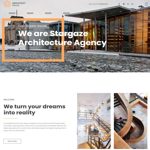 Criar Site Arquiteto