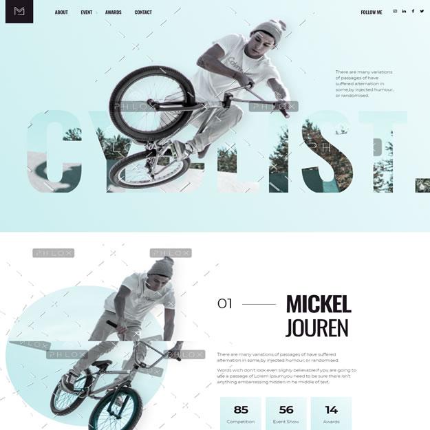 Criar Site Ciclismo Bike