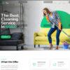 Criar Site Serviços de Limpeza WordPress Responsivo 1339 S
