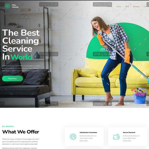 Criar Site Serviços de Limpeza