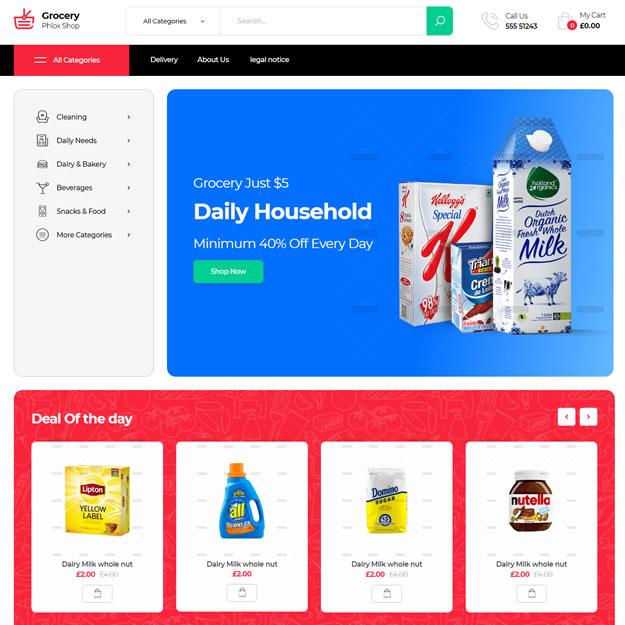 Loja Virtual Supermercado