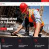Criar Site Construtora WordPress Responsivo 1350 S