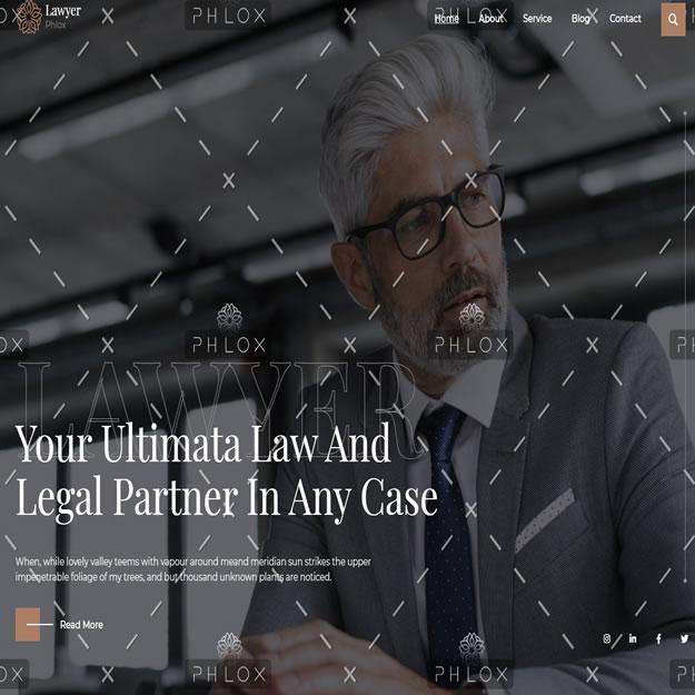 Criar Site Advogado