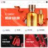 Loja Virtual Cosméticos WordPress Responsivo 1353 S