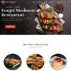 Criar Site Restaurante WordPress Responsivo 1355 S