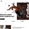 Criar Site Cafeteria WordPress Responsivo 1356 S