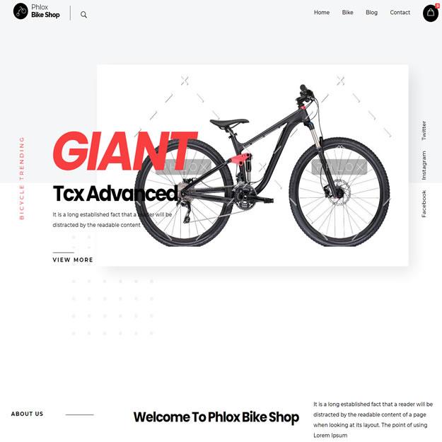 Loja Virtual Bicicleta Bike