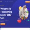 Criar Site Creche Infantil WordPress Responsivo 1375 S