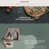 Criar Site Pizzaria Massas WordPress Responsivo 1381 S