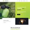 Criar Site Dedetizadora WordPress Responsivo 1390 S