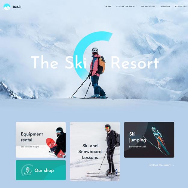 Criar Site Ski Neve