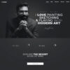 Criar Site Artes WordPress Responsivo 1398 S